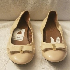 Cole Haan Leather Ballet II Flat